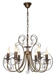 <b>Люстра Silver Light</b> Vienna <b>155.53.6</b>, E14, 360 Вт — купить по ...