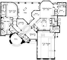 Old World Design   MJ   st Floor Master Suite  Bonus Room    Floor Plan
