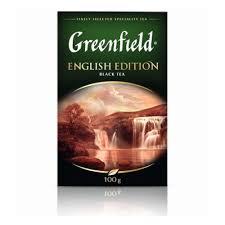 <b>Чай GREENFIELD English</b> Edition <b>черный</b>, листовой, 100г ...
