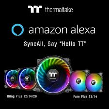 <b>Вентиляторами Thermaltake Riing Plus</b> и Pure Plus RGB можно ...