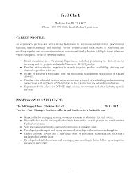 simple procurement specialist resume sample career profile cover letter simple procurement specialist resume sample career profile professional experienceprocurement specialist resume