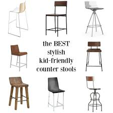counter kitchen stools best stylish kid friendly counter stools