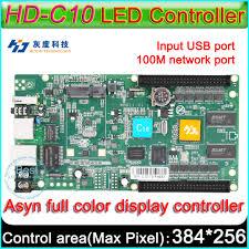 <b>HD C10</b> Full color Asyn LED <b>display</b> control card, P3 P4 P5 P6 P8 ...