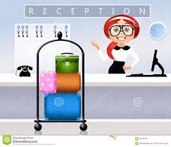 front desk receptionist clipart clipartfest front desk receptionist reception in hotel stock