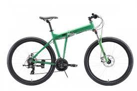 Горный велосипед <b>Stark</b>'<b>20</b> Cobra 27.2 D 18 зелёный/чёрный