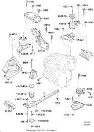 similiar 02 ford escape xlt 3 0 engine diagram keywords escape central engine mount replacement