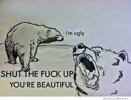 Shut The Fuck Up You're Beautiful | WeKnowMemes via Relatably.com