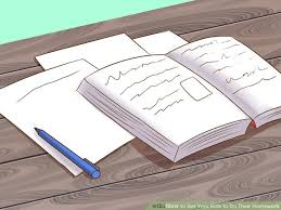 How to Avoid Homework Stress  with Pictures    wikiHow Make sure you understand your test answers  both right and wrong  in order to