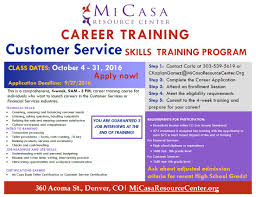 financial services and customer services training mi casa customer service skills training oct 2016