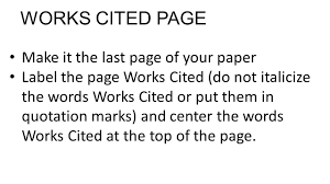 mla citation owl in text how do i cite sources george fox university mla in text citations owl purdue university