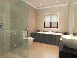 modern black freestanding bathroom vanity: oval white porcelain freestanding bathtub white wall hung sink minimal