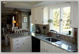 beautiful white kitchen cabinets:  before and after kitchen oak cabinets painted white