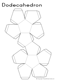 d nets dodecahedron a jpg times unschooling 3d