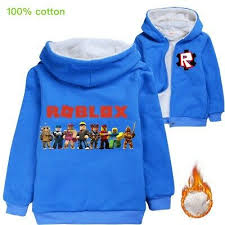 ROBLOX Boy Girl Kid <b>Cartoon Thicken</b> Winter Warm <b>Jacket Coat</b> ...