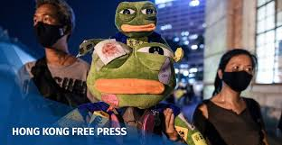 Hong Kong protesters transform alt-right <b>Pepe the Frog</b> into pro ...
