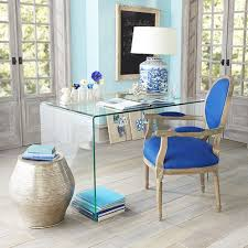 small space solutions sources for clear glass acrylic desks apartment therapy wisteria acrylic office desk