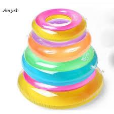Amysh <b>70cm</b> Safe <b>Inflatable</b> Circle Dual Airbag Swimming <b>Baby</b> ...