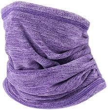 GZP <b>Fleece Bib</b>, <b>Winter Outdoor</b> Neck Thick Warm <b>Fleece</b> Headscarf ...