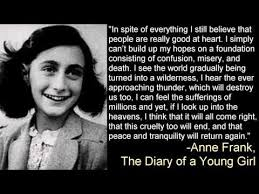 Anne Frank Quote | Haggadot.com