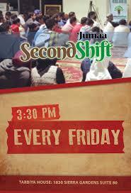 second shift jumaa tarbiya institute events