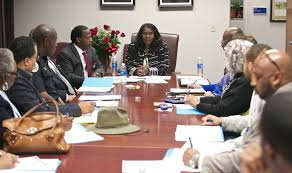 tennessee state university newsroom page  tsu president dr glenda glover center meets members of the newly