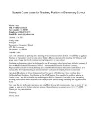 example cover letter for teaching position template example cover letter for teaching position