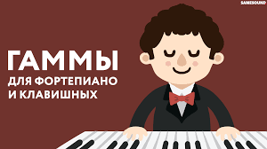 <b>Гаммы</b> для фортепиано и клавишных: 16 основных видов ...