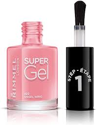 <b>Rimmel</b> London <b>Super gel</b> Nail Polish, 22 Angel Wing: Amazon.co ...