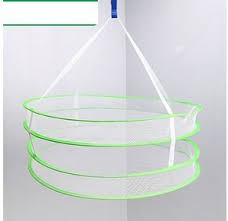 ISTORE <b>Double Layer Foldable</b> Hanging Clothes Drying Rack ...