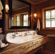 ideas bathroom sinks designer kohler: rustic bathroom sink is brokway by kohler