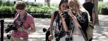 photography summer camps for teens socapa org new york city photographers take digital and 35mm photos in the park