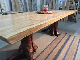 wood slab dining table beautiful: email a friend liveedgeelmdiningtablev   email a friend