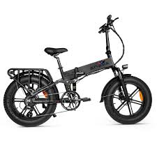 <b>500W</b> Folding E-Bike | Fat Tire Mountain Electric Bike | <b>Engwe</b> ...
