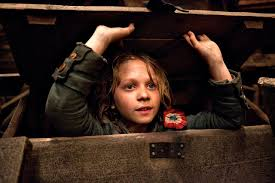 movie review les miserables the silver screener gavroche daniel huttlestone in les miserables gee this kid was fantastic