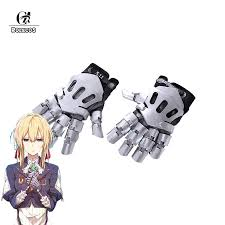 <b>ROLECOS</b> New Arrival <b>Violet Evergarden Cosplay</b> Hand Gloves ...