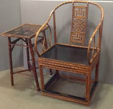antique chinese bamboo furniture pair of chinese bamboo chairs english bamboo table antiques chinese bamboo furniture