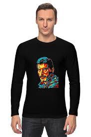 """Лонгслив """"<b>Freddie Mercury</b> - <b>Printio</b>"""