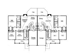 Multi Family House Plans   mabe  co Pictures of the Multi Family House Plans
