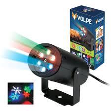 <b>Светильник</b>-<b>проектор</b> вращ. <b>Volpe ULI</b>-<b>Q306</b>-01 Снежинки, d=8/h ...