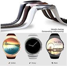 Kingwear Bluetooth Smart Watch KW18 1.3 inches IPS <b>Round</b>