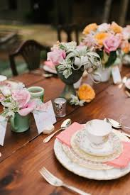 High Tea Kitchen Tea Vintage High Tea Bridal Shower Tablescape Chic Vintage Brides