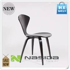 aliexpresscom buy ch177 natural side chair walnut or ash wooden norman cherner chair plywood chairs red black white dining chair free shipping from ch177 natural side chair walnut ash