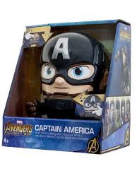 <b>Будильник</b>, минифигура Captain America (Капитан Америка ...