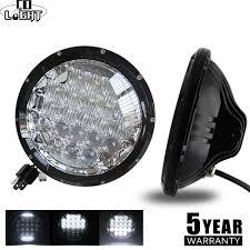 <b>CO LIGHT</b> 1 Pair 7 Inch Headlights 70W 35W Angel Eyes 12V 24V ...