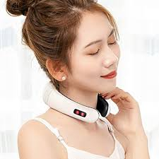 Greatlong <b>Electric Pulse Neck Massager</b>: Amazon.in: Health ...