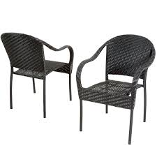 <b>Stackable Outdoor</b> Dining <b>Chairs</b> | Joss & Main