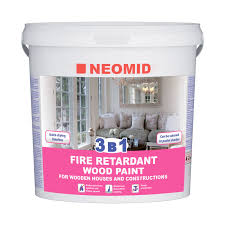 DECORATIVE INTUMESCENT PAINT FOR WOOD NEOMID <b>3 in 1</b>
