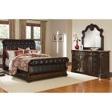 wonderful brown brown leather bedroom furniture