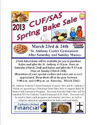 bake flyer for spirit and saints bake flyer for 2013