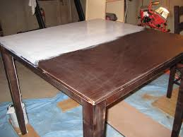 Refinishing A Dining Room Table Cool Ways To Refinish A Kitchen Table Best Kitchen 2017